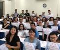 """Khai giảng lớp """"Hướng dẫn viết và công bố bài báo khoa học trên các tạp chí quốc tế"""" khóa 1"""